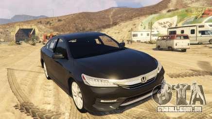 Honda Accord 2017 para GTA 5