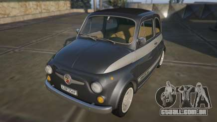 Fiat Abarth 595ss Racing ver para GTA 5