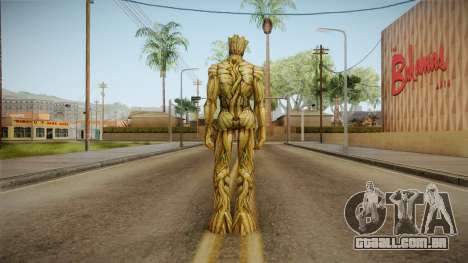 Marvel Future Fight - Groot para GTA San Andreas