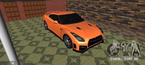 Nissan GT-R 35 Restyling para GTA San Andreas