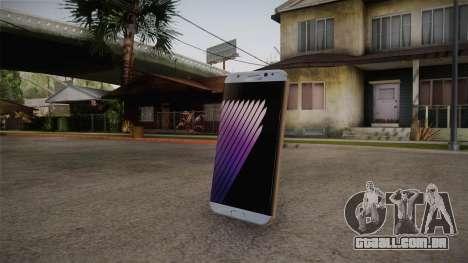 Galaxy Note 7 Grenade para GTA San Andreas