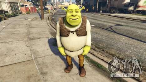 Shrek 1.0 para GTA 5