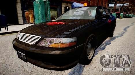 xxx Táxi para GTA 4