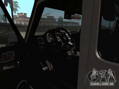 Mercedes-Benz G500 Armenian para GTA San Andreas