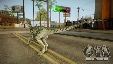 Primal Carnage Velociraptor para GTA San Andreas
