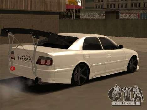 Toyota Chaser JDM para GTA San Andreas