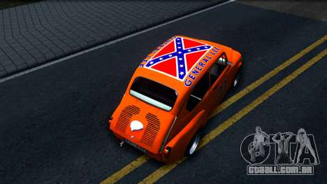 Zastava 850 Abarth General Lee para GTA San Andreas