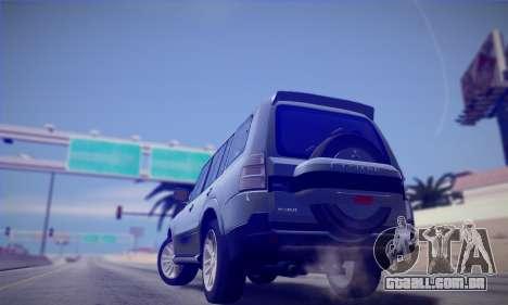 Mitsubishi Pajero IV 2015 para GTA San Andreas