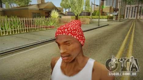 Chapéu de natal para GTA San Andreas