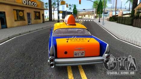 GTA V Declasse Cabbie para GTA San Andreas