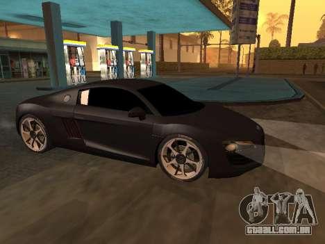 Audi R8 Armenian para GTA San Andreas