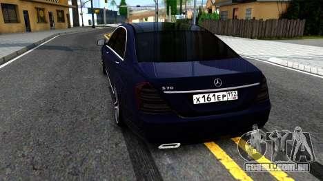 Mercedes-Benz S70 para GTA San Andreas