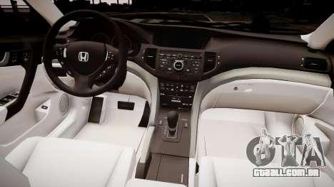 Honda Accord 2008 para GTA 4