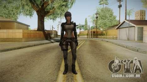 Ghost In The Shell First Assault - Motoko v2 para GTA San Andreas