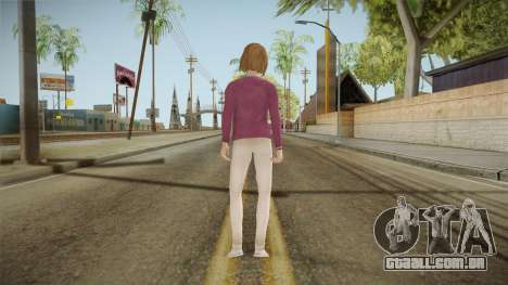 Life Is Strange - Max Caulfield Vortex Club v2 para GTA San Andreas