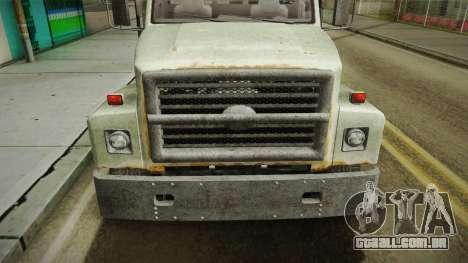 GTA 5 Vapid Scrap Truck v2 IVF para GTA San Andreas