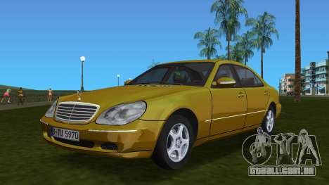 Mercedes-Benz S600 W220 para GTA Vice City