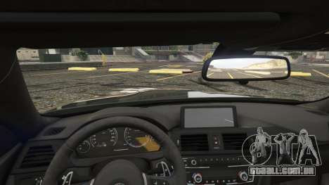 GTA 5 BMW M4 F82 2015 vista lateral direita