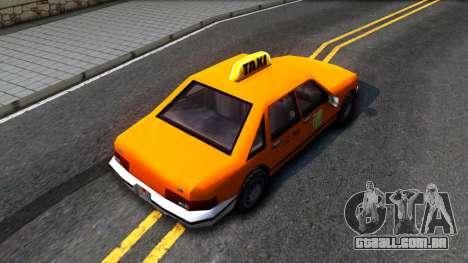 Taxi From LCS para GTA San Andreas
