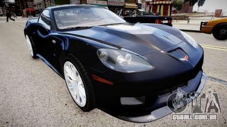 Chevrolet Corvette ZR1 v2.0 para GTA 4
