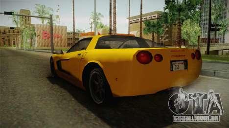 Declasse Coquette 2002 para GTA San Andreas