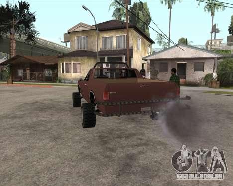 Picador 4x4 para GTA San Andreas