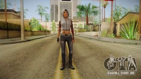 Dead Rising 3 Episode 2 DLC - Angel Hood Up para GTA San Andreas