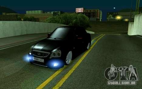 Priora 07 para GTA San Andreas