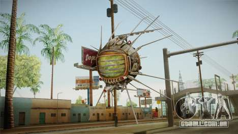 Fallout New Vegas - Eyebot Antique para GTA San Andreas