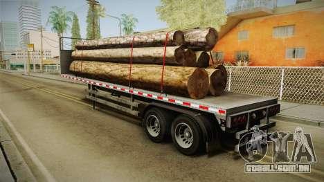 GTA 5 Log Trailer v1 para GTA San Andreas