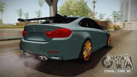 BMW M4 GTS para GTA San Andreas