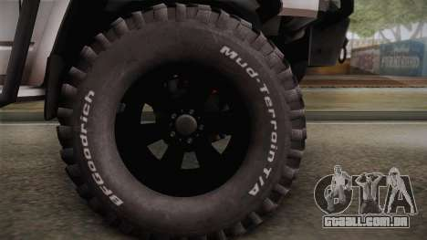 Nissan Safari Y60 Off-Road para GTA San Andreas