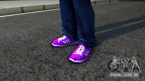 Adidas Forum MID Purple para GTA San Andreas