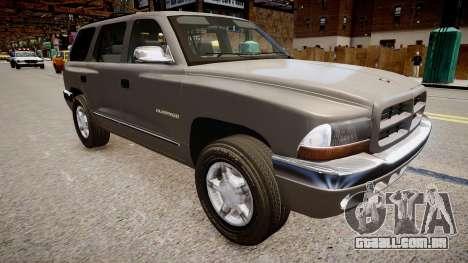 Dodge Durango 1998 para GTA 4