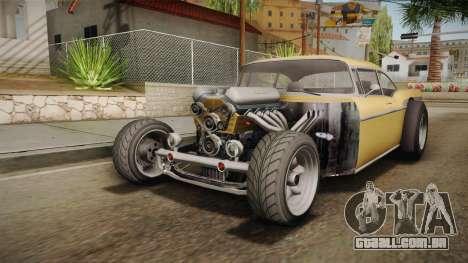 GTA 5 Declasse Tornado Rat Rod Cleaner para GTA San Andreas