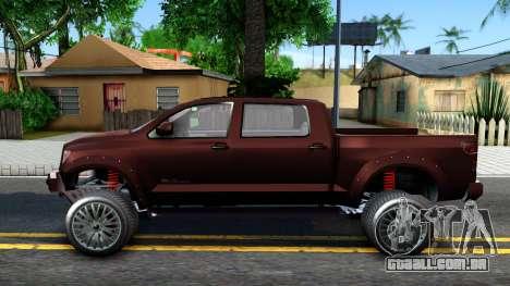 GTA V Vapid Contender para GTA San Andreas