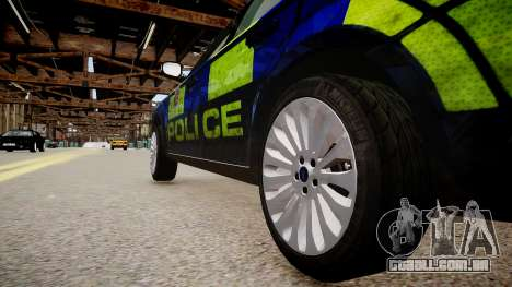 Ford Mondeo Estate police UK para GTA 4