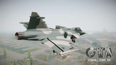 EMB J-39C Gripen NG FX-2 FAB para GTA San Andreas