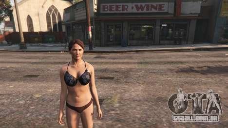 Topless Amanda De Santa para GTA 5
