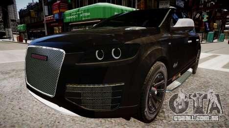 Audi Q7 CTI para GTA 4