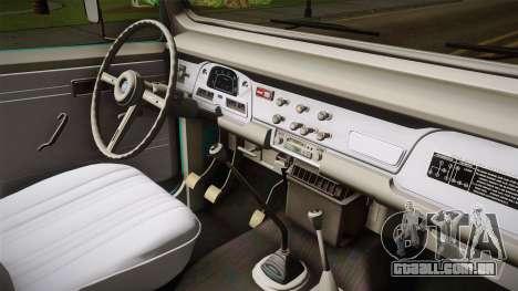 Toyota Land Cruise FJ40 Chasis Largo 1978 para GTA San Andreas