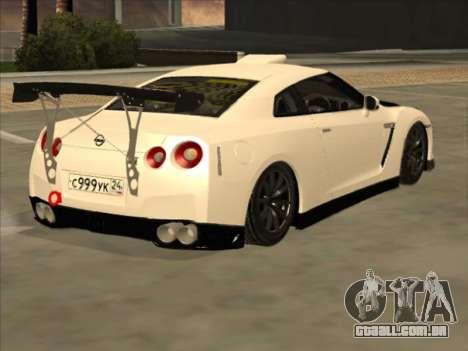 Nissan GT-R Drift JDM para GTA San Andreas