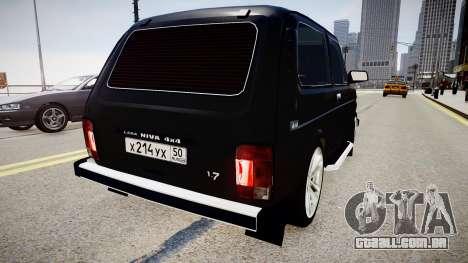 VAZ 21214 Niva para GTA 4