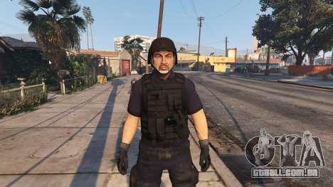 SWAT LSPD para GTA 5