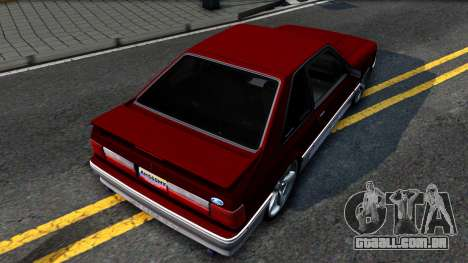 Ford Mustang 1993 para GTA San Andreas vista traseira
