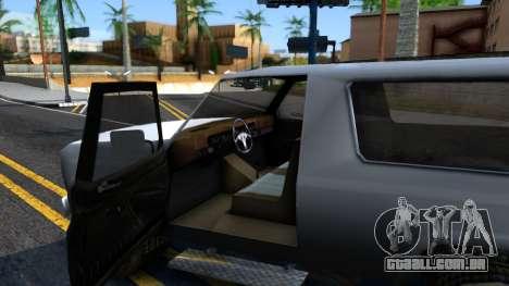 Land Roamer Driver Parallel Lines para GTA San Andreas vista interior