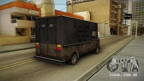 Boxville from Vice City para GTA San Andreas