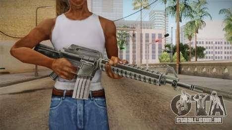 M4 HQ para GTA San Andreas