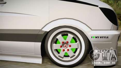 Mercedes-Benz Sprinter v2 para GTA San Andreas