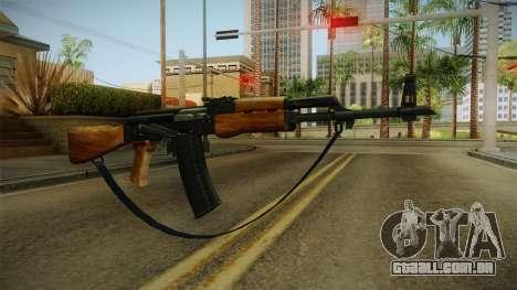 AK47 com alça para GTA San Andreas